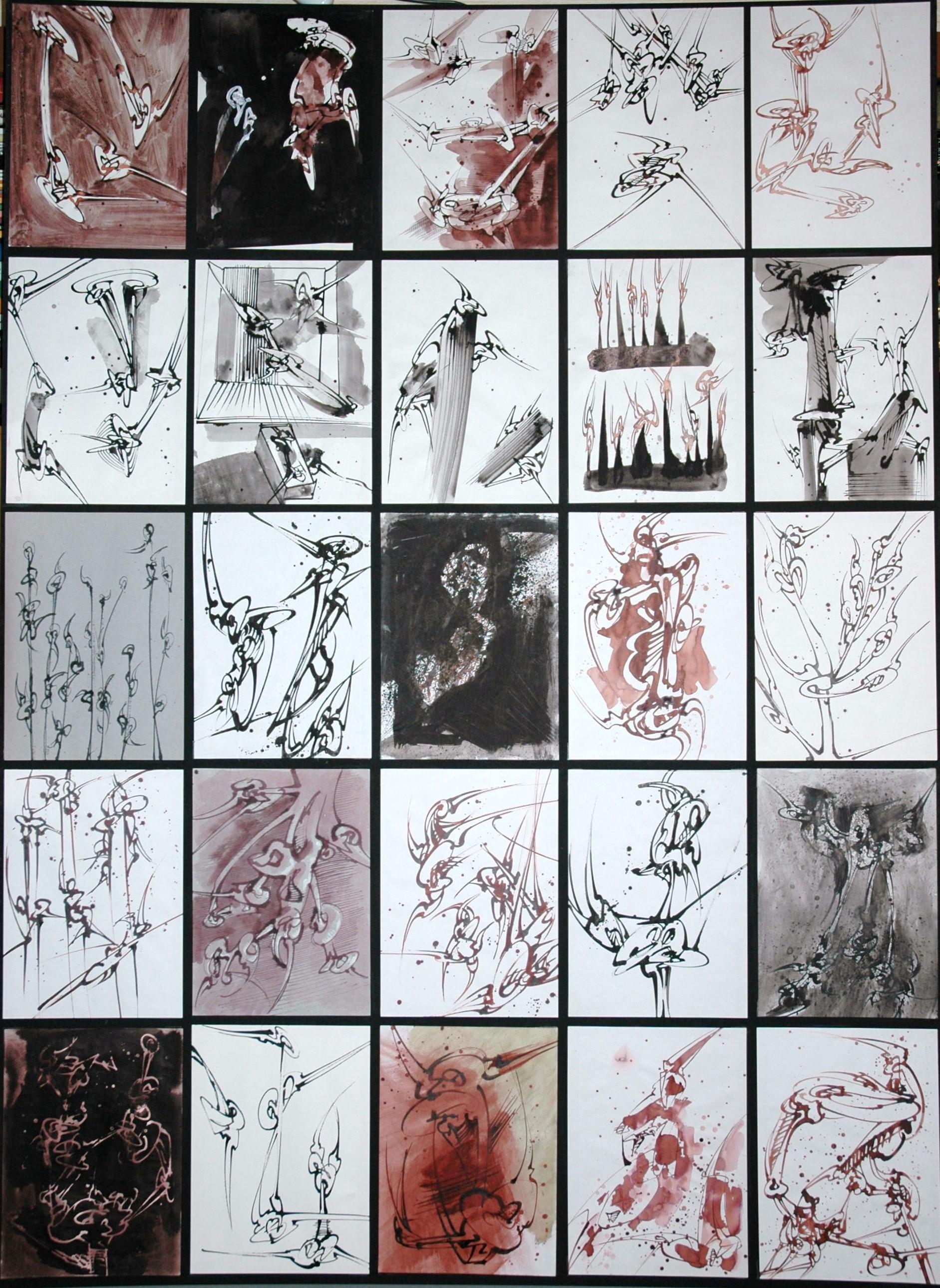 Black Box - 64 cartons (1600 dessins)
