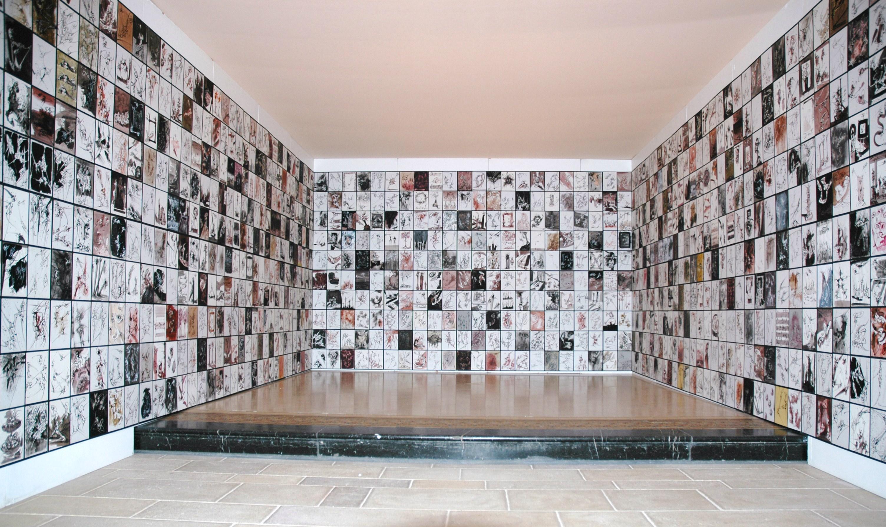 Black Box - Espace Saint Louis, Bar Le Duc  (1600 dessins, chaque dessin 25 X 18 cm)