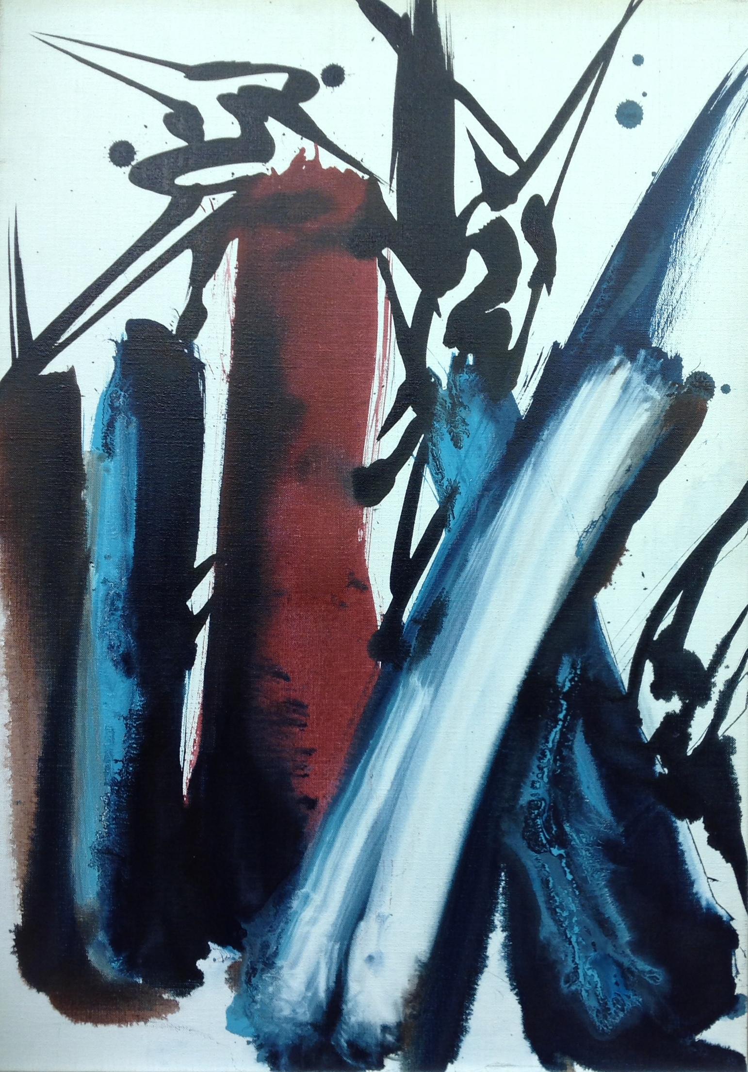 Acrylique sur toile, 65 X 46 cm