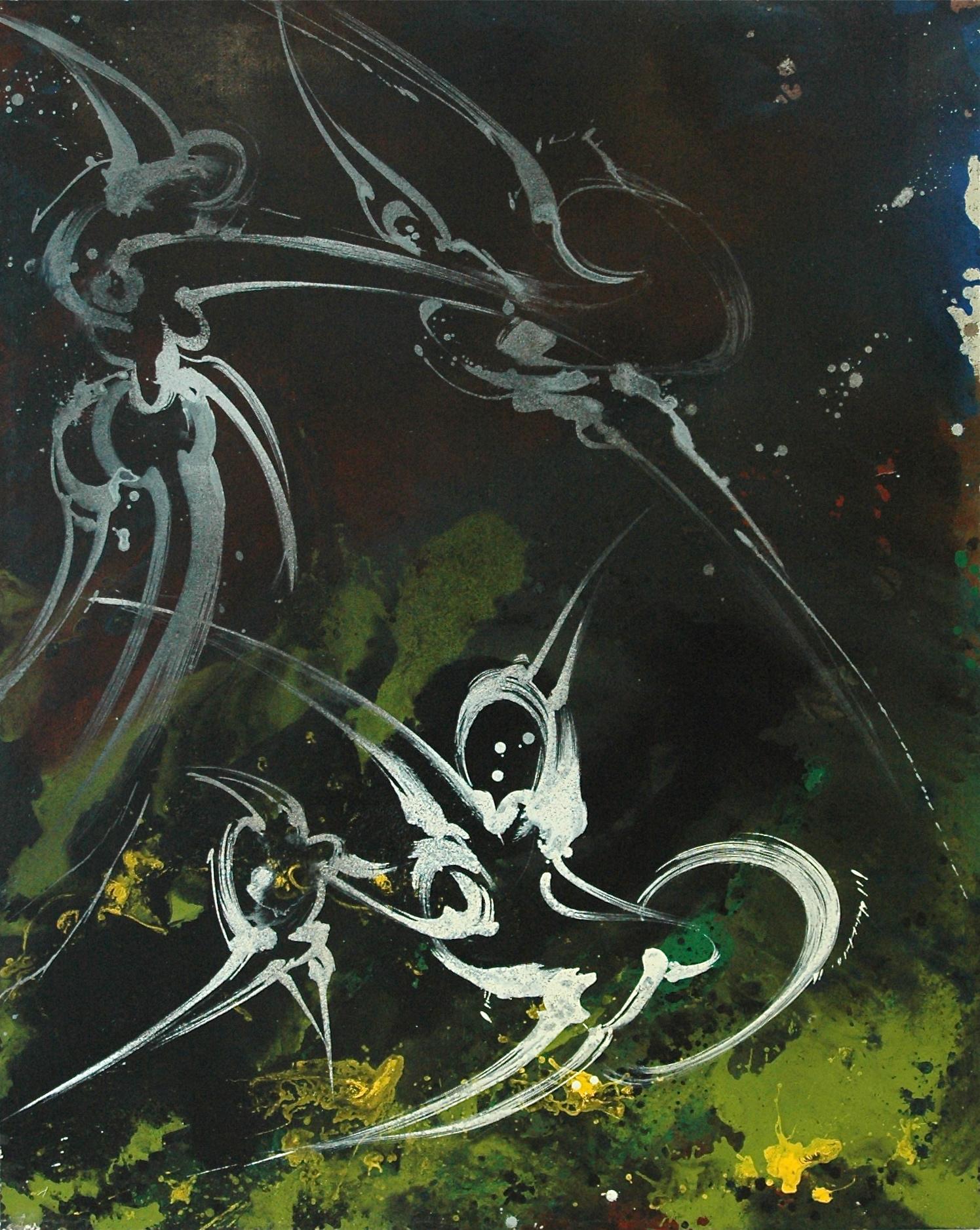 Acrylique sur toile, 130 X 162 cm