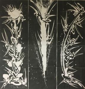 12 dessins 65 X 50 cm chacun,sur papier canson copie